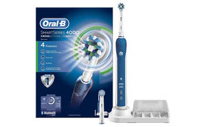 Save 63% off Oral-B Smart Series 4000 electric toothbrush 24hr deal from 22 – 23 Jan 2017