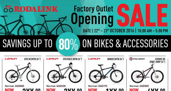 Rodalink Factory Outlet Feat 18 Oct 2016