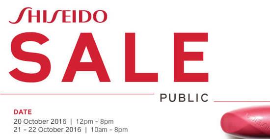 Shiseido Feat 18 Oct 2016