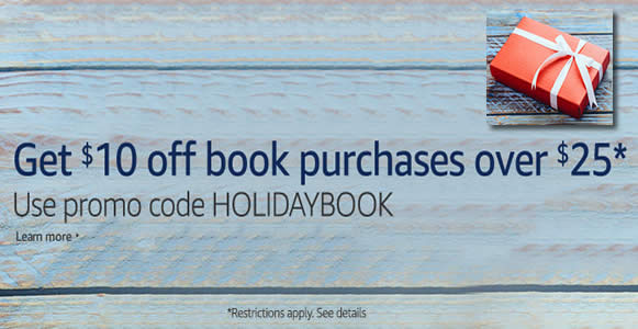 Amazon.com: Coupon code for $10 off books ($25 min spend) from 24 ...