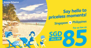 Cebu Pacific Air: Fly to Philippines fr $85 all-in! Book from 19 – 21 Aug 2017
