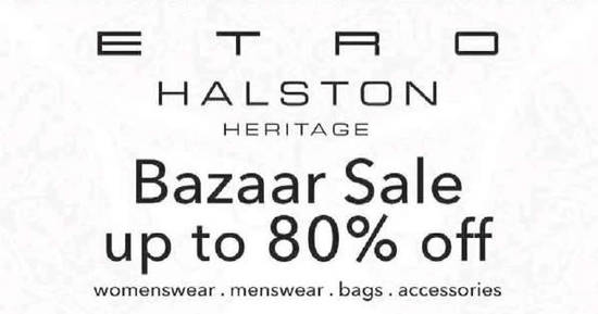 Etro Bazaar Sale Feat 25 Nov 2016