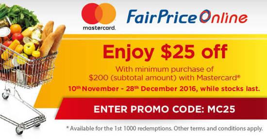 Fairprice Online 10 Nov 2016