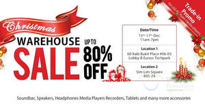 AC Ryan warehouse sale with discounts of up to 80% off at two locations from 15 – 17 Dec 2016