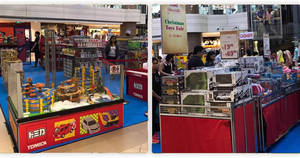 BHG Christmas toys fair at Junction 8 from 5 – 11 Dec 2016