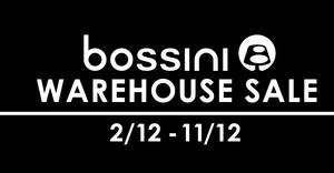 Bossini warehouse sale now on with prices starting from $5 onwards from 2 – 11 Dec 2016
