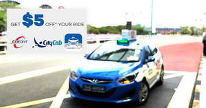 Comfort Delgro: $5 off midnight taxi rides (12am – 6am) promo code valid from 18 – 24 Apr 2017