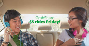 Ride to anywhere in Singapore for just $5 with Grab's one-day promo on 9 Dec 2016