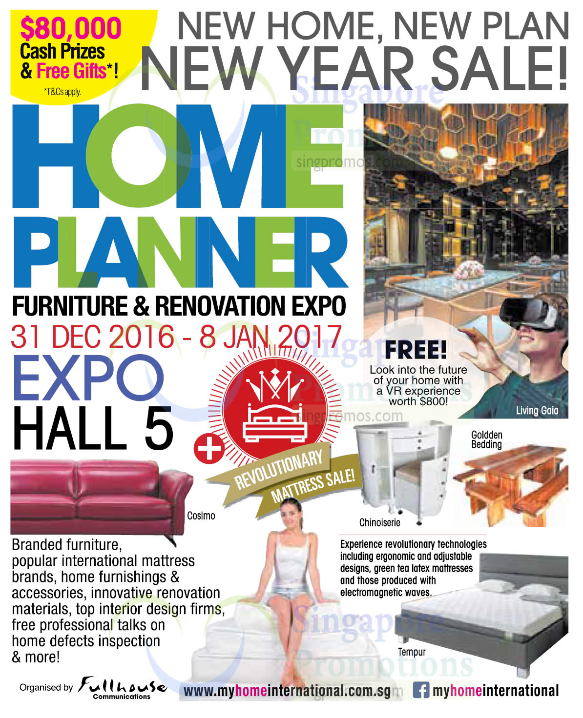 Home Planner 30 Dec 2016 Home Planner Show At Singapore Expo From 31 Dec 2016 8