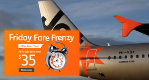 [Ends 11pm today] Jetstar promo fares from $35 all-in to Penang, Kuala Lumpur, Ho Chi Minh City, Phuket & more on 2 Dec 2016