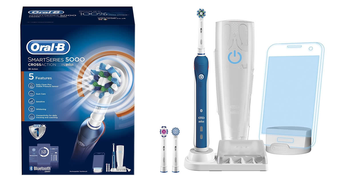 product ratings - Oral-B Pro Smart Series Rechargeable Electric Toothbrush with Bluetooth $ Trending at $ Trending price is based on prices over last 90 days.