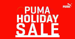 PUMA holiday sale offers discounts of up to 70% off at KOMTAR JBCC Johor Bahru Malaysia from 9 – 18 Dec 2016