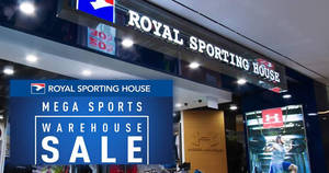Royal Sporting House mega sports warehouse sale offers up to 80% off discounts from 8 – 11 Dec 2016