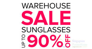 SeeChic sunglasses warehouse sale offers up to 90% off on 8 & 10 Dec 2016