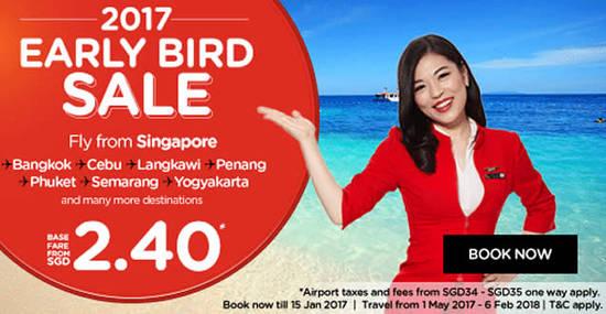 Air Asia 9 Jan 2017