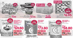 Cold Storage: Ben & Jerry's 3-for-$27.95, New Moon Abalone, Ferrero Rocher & more from 20 – 24 Jan 2017