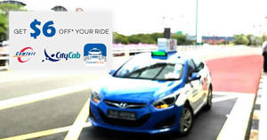 Save $6 off Comfort Delgro taxi rides promo code valid from 21 – 22 Jan 2017