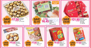 FairPrice one-day deals: Ferrero Rocher, Brand's Bird Nest, Okeanoss & more on 14 Jan 2017