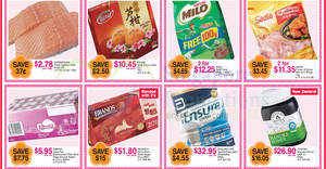 FairPrice one-day deals: Norwegian Fresh Salmon, Milo Refill Pack, Ribena, Brand's Bird's Nest Rock Sugar & more on 23 Jan 2017