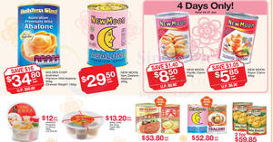 Fairprice up to 56% off abalone & other CNY offers valid from 24 Jan – 8 Feb 2017
