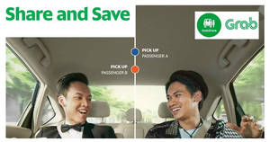 Save $3 off GrabShare rides with this promo code from 18 – 24 Feb 2017