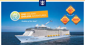 Royal Caribbean roadshow at Chevron House (Cruise from $412*) from 19 – 20 Jan 2017