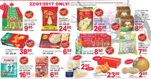 Sheng Siong one-day deals: Royal Umbrella Rice, Coca-Cola, CP Shrimp Wonton, Abalone & more on 22 Jan 2017