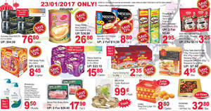 Sheng Siong one-day deals: Happy Family New Zealand Wild Abalone, Pringles, F&N Variety Packs & more on 23 Jan 2017