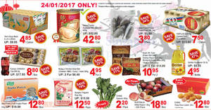 Sheng Siong one-day deals: Happy Family Australia Wild Abalone, Ferrero Collection, China Yong Chun Lukan & more on 24 Jan 2017