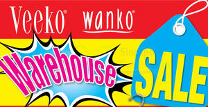 Veeko & Wanko warehouse sale offers up to 90% off discounts from 27 May – 10 Jun 2017