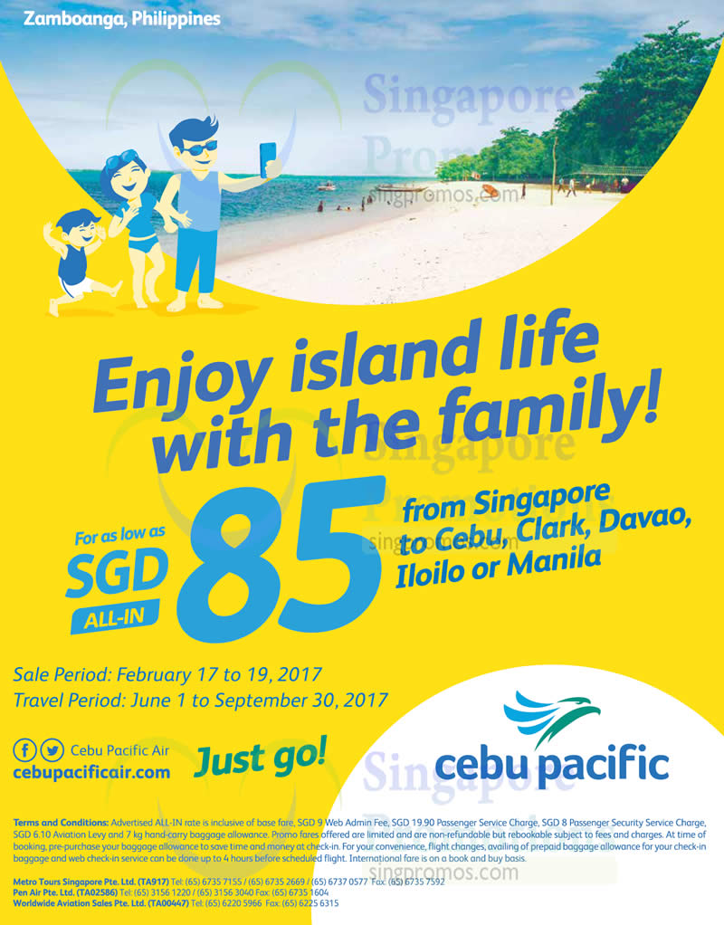 cebu pacific air promo Low-cost carrier cebu pacific has integrated the domestic  pay, and confirm  their flights on cebu pacific, but will need to present valid tax.