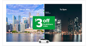 Enjoy $3 off GrabShare rides this week with new promo code valid from 27 Feb – 4 Mar 2017
