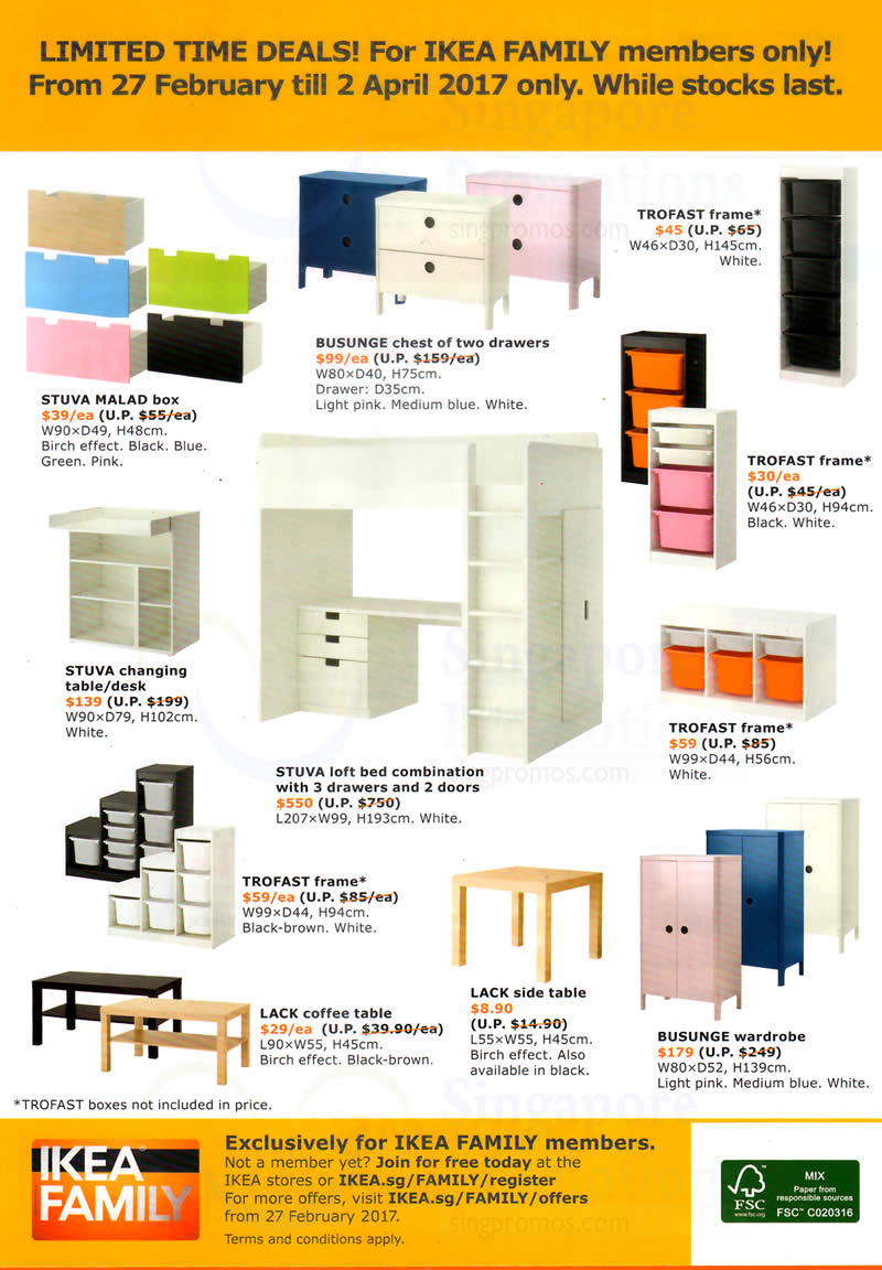 save up to 200 with ikea s upcoming promo offers from 27 feb 2 apr 2017. Black Bedroom Furniture Sets. Home Design Ideas