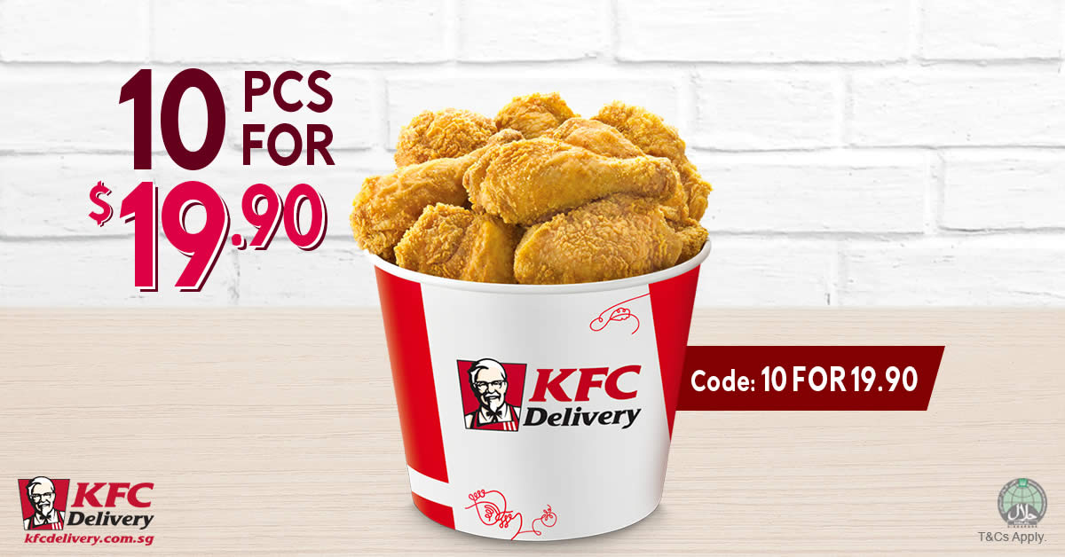 Coupon/Offer Details: Verified on 7 Dec Introducing KFC BIG 8 Value Bucket, the most lucrative KFC Special offer today. BIG 8 is a special combination .
