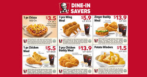 KFC releases new discount coupons featuring savings of up to $9.60 valid from 8 Feb – 21 Mar 2017