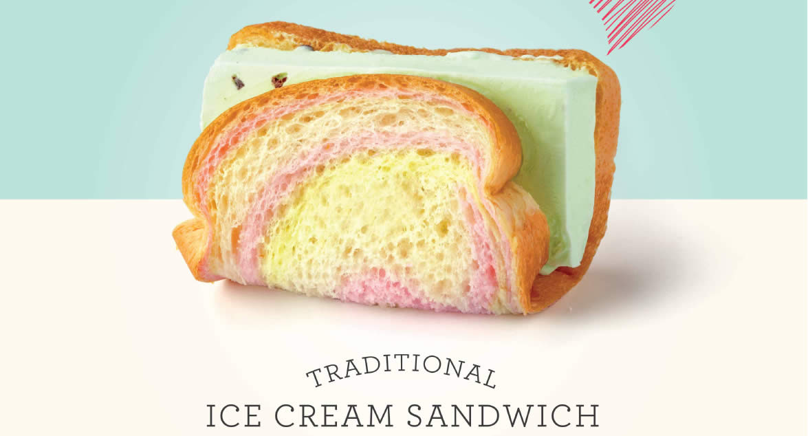 Breadtalk Now Offers Traditional Ice Cream Sandwich At Selected Outlets From 2 Mar 2017