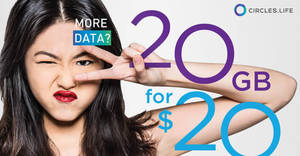 Circles.Life: $20 off registration fee & 1GB free data for SC cardholders! Valid from 5 Jun – 31 Jul 2017