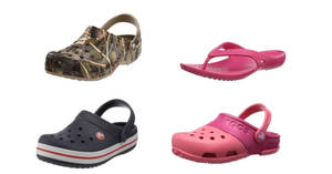Crocs products are going at up to 50% off in Amazon's 24hr deal till 23 Mar, 3pm