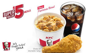 KFC launches new Famous Bowl rice bucket from 1 Mar 2017