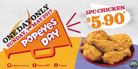 Popeyes Day 29 Mar 2017
