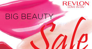 Revlon's warehouse sale offers up to 90% off cosmetics, hair care & hair colour products from 30 Mar – 5 Apr 2017