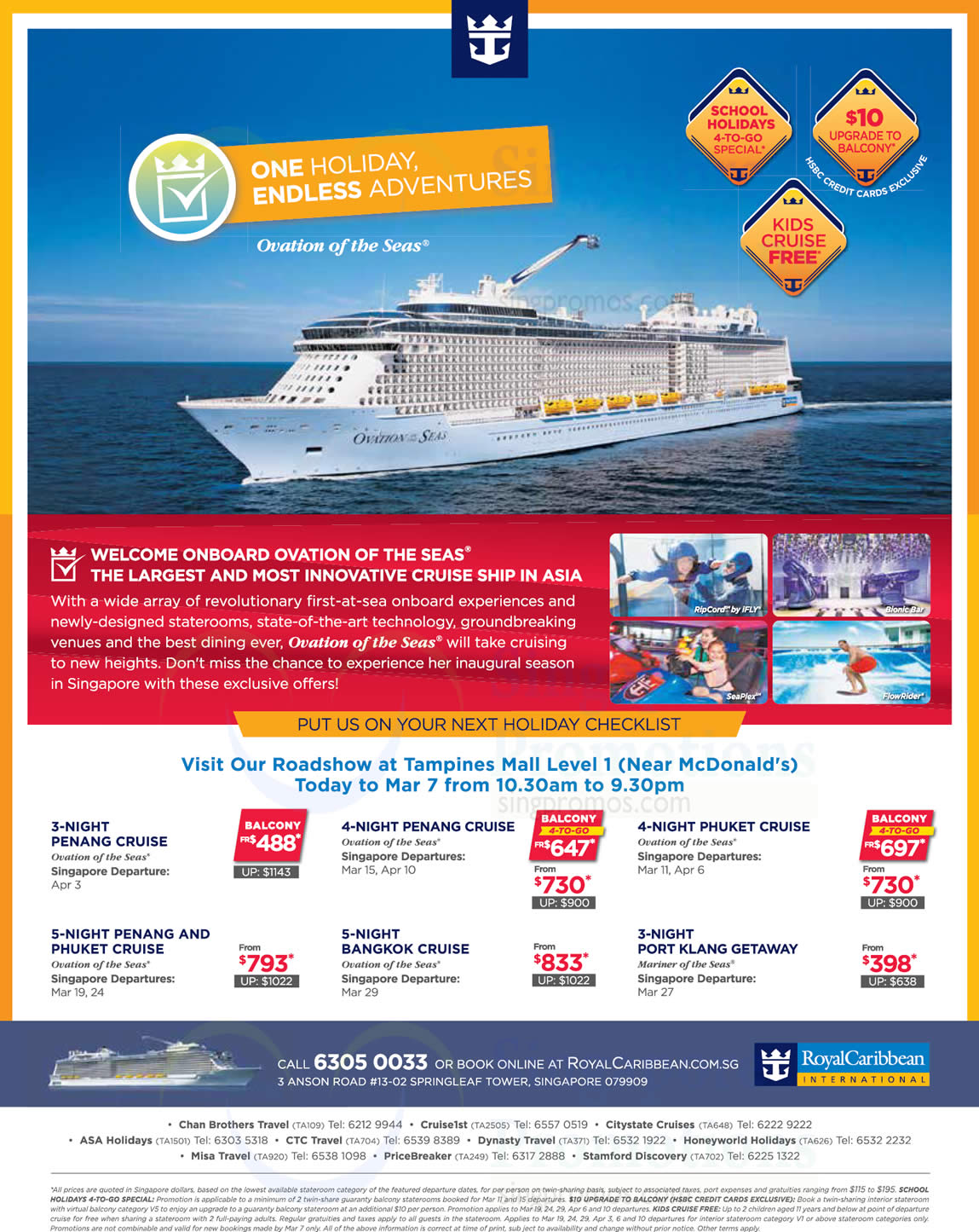 Royal Caribbean Roadshow At Tampines Mall Cruise From 398 From 2  7 Mar