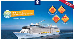 Royal Caribbean roadshow at AMK Hub (Cruise from $398*) from 22 – 26 Mar 2017
