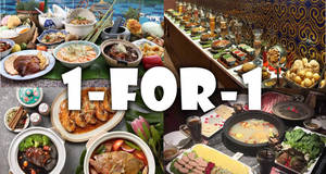 Singtel Exclusive: 1-for-1 buffet deals at Saltwater Cafe, Katong Kitchen, Straits Cafe & more from 29 Mar 2017