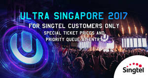ULTRA Singapore: Exclusive 10% savings on tickets