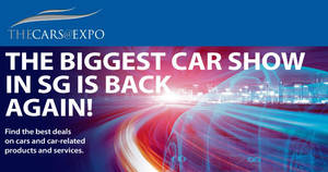 Cars@Expo 2017 at Singapore Expo from 6 – 7 May 2017