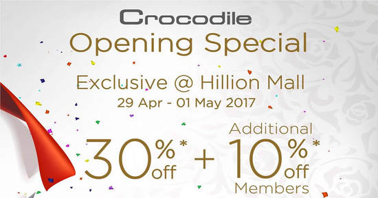 Crocodile feat 29 Apr 2017
