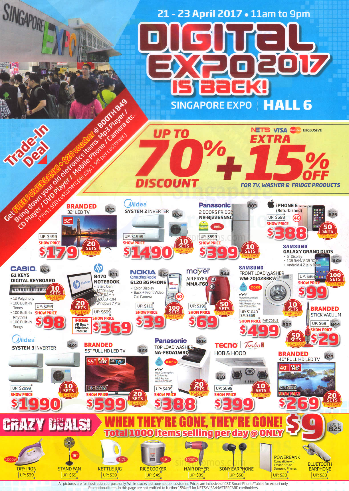 Digital Expo Featured Offers, Crazy Deals 15 Apr 2017