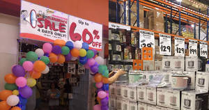 Giant: Up to 60% off warehouse clearance sale at Tampines from 28 Apr – 1 May 2017