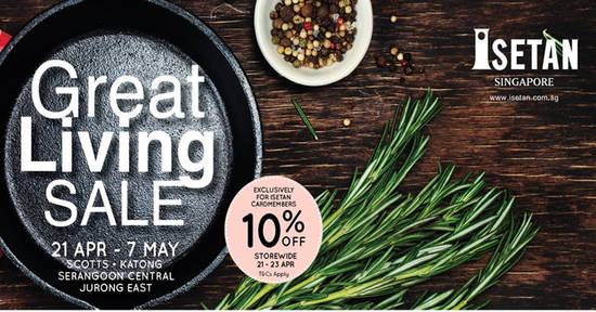 Isetan Great Living 19 Apr 2017